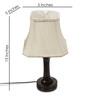 New Era Brown Wooden Lamp