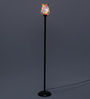 New Era Multicolour Glass Floor Lamp