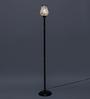 New Era Off White Cotton Floor Lamp