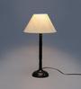 New Era Off White Cotton Table Lamp