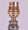 New Era Silver Metal & Steel Exquisite Lamp Base