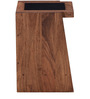 Nexo Knight Wireless charging Bed Side Table in Premium Acacia Finish by Woodsworth
