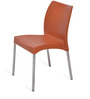 Novella Chair in Rust Colour by Nilkamal