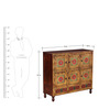 Praphulla Hand Painted Sideboard by Mudramark