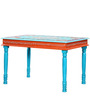 Vanya Hand Painted Four Seater Dining Table by Mudramark