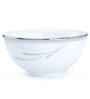Noritake Platinum Breeze White Porcelain 170 ML Vegetable Bowl - Set of 6