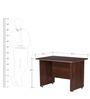 Nortis Four Feet Office Table by Nilkamal