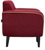 Norway Finesse One Seater Sofa in  Bus Red Colour by Urban Living