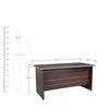 Nova Study cum Reception Table in Wenge Colour by HomeTown