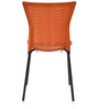 Novella Series - 14 Set of 2 Chairs in Rust Color by Nilkamal