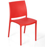 Novella Series - 8 Set of 2 Chairs in Red Color by Nilkamal
