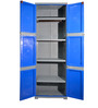 Novelty Large Storage Cabinet in Grey & Blue colour by Cello