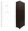 Novelty Large Storage Cabinet in Pearl Brown colour by Cello
