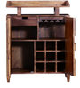Oak Harbor Bar Cabinet & Counter in Provincial Teak Finish by Woodsworth