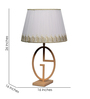 Oasis Table Lamp in White by Bohemiana