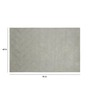 Obeetee Grey Wool 60 x 96 Inch Era Carpet