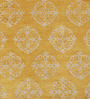 Obeetee Honey Gold Wool 96 x 60 Inch Empire Scroll Carpet