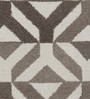 Obeetee Taupe Wool 96 x 60 Inch Marquise Carpet