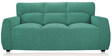 Octo Sofa Set (3 + 1 + 1) Seater in Teal Colour by Vive