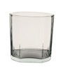 Ocean Rock Pyramid 380 ML Whisky Glasses - Set of 6
