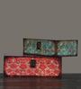 OddCroft Victorian Wood & Acrylic Nestable Keepsake Boxes - Set of 2