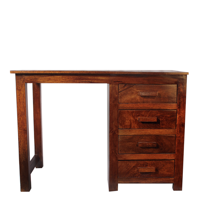 Olida Mango Wood Study Table By Mudramark Online Study