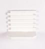 Onlineshoppee White Wooden Wall Rack