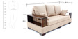 Opulent Three Seater Sofa by Looking Good Furniture