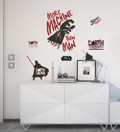 Licensed Darth Vader Digital Printed Wall Decal