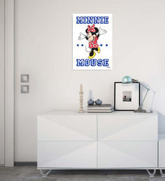 Licensed Disney Minnie Mouse Digital Printed With Laminated Wall Poster
