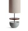 Orange Tree Brown Linen Bert Table Lamp