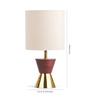 Orange Tree Brown Linen Dumoo Table Lamp