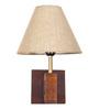 Orange Tree Brown Wood Reille Wall Lamp