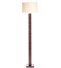 Orange Tree Off White Jute Groovy Floor Lamp