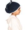 Mummas Touch Organic Navy Blue Hair Wrap Towel (5+ Years)