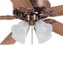 Orient Subaris Motor Antique Copper Ceiling Fan with Light