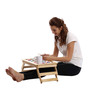 Licensed Minnie Face Digital Printed Folding Laptop Table by Orka