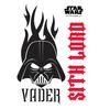 Licensed Vader Logo Digital Printed Wall Decal