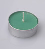 Orlando'S Decor Non Aromatic Sap Green Tea Light Candle - Set of 50