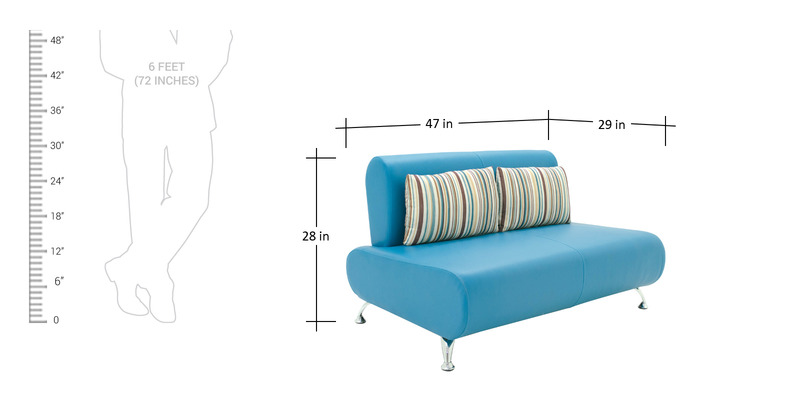 Buy Oscar Two Seater Sofa in Peacock Blue Colour by  : oscar two seater sofa in peacock blue colour by furnitech oscar two seater sofa in peacock blue colo ruj77m from www.pepperfry.com size 800 x 400 jpeg 39kB