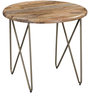 Otish Coffee Table in Gold Finish by Bohemiana