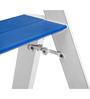 Ozone Blue Aluminium 3 Steps 3.4 FT Ladder