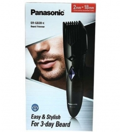 Panasonic Beard/Hair Trimmer ER-GB30K Black