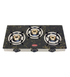 Padmini CS- 3 GT A Garnet Brown Gas Stove