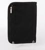 Packnbuy Fabric Black Travel Passport Organiser