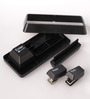 Packnbuy Plastic Black Stationary Set