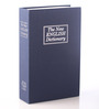 PackNBUY Blue Metal 10 x 6 x 2.5 Inch Numeric Dictionary Book Safe
