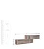 Palace Oak Wall Shelf in Oak Finish by Gami