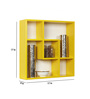 Palacio Contemporary Wall Shelf in Yellow by CasaCraft