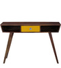Denali Study & Laptop Table in Provincial Teak Finish by Woodsworth